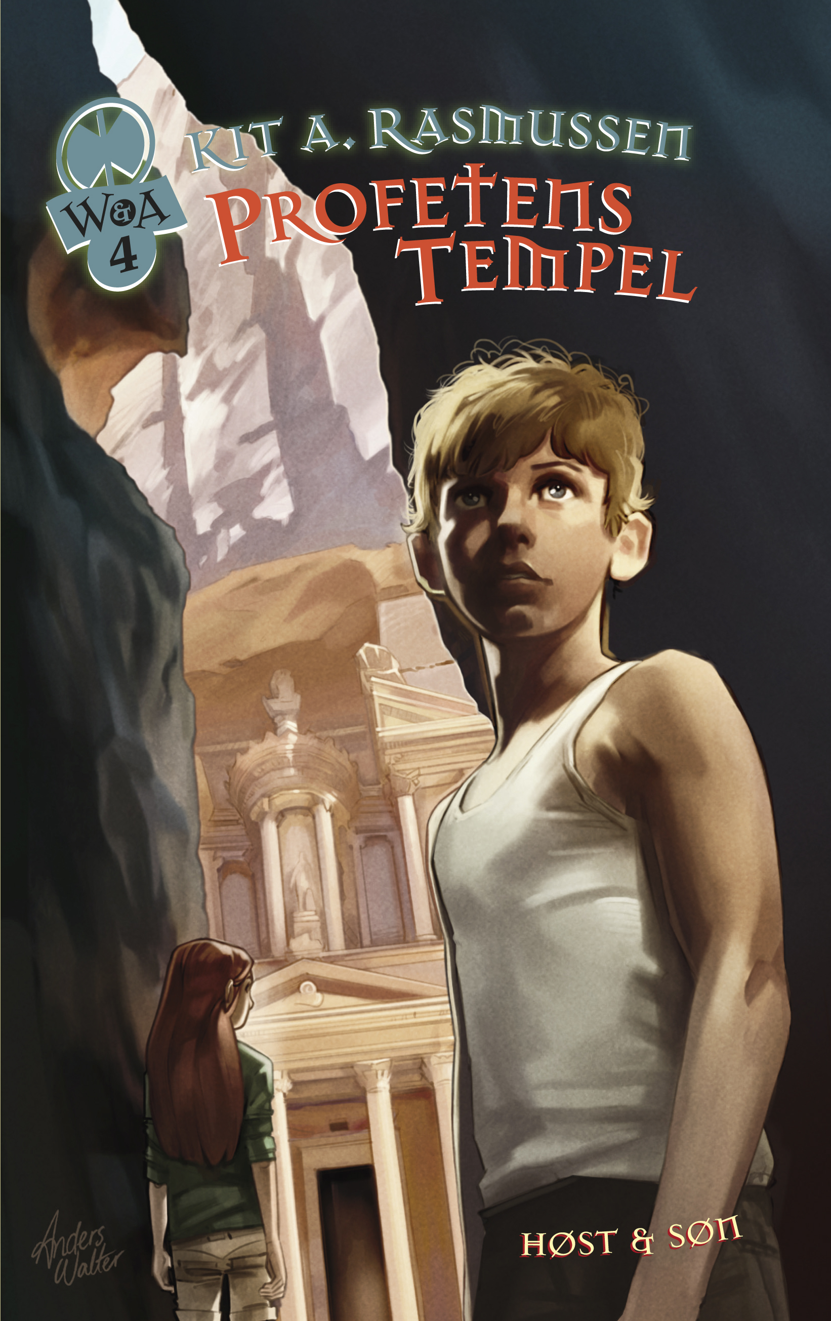 William & Athena 4: Profetens tempel
