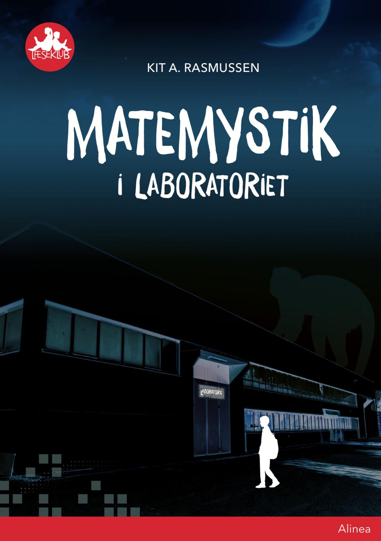 """Matemystik i laboratoriet  Udefra er huset mørkt og skummelt. På døren er der et stort skilt: LABORATORIE Jeg ser på det øde industriområde omkring mig. På månen, der kigger frem bag en sky. Og så ser jeg på telefonen igen. Det kan da ikke passe? Ukendt nummer: """"Hjælp! Kom til Industrivej 86. Skynd dig!""""  Matemystik i laboratoriet er fuld af matematiske gåder. Mens du leder efter stemmen bag Ukendt nummer, løser du gåderne for at finde en sikker vej ud af laboratoriet.  Bog skrevet af Kit A. Rasmussen"""